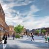 Wokingham Town Centre Regeneration – Peach Street Facade Demolishing