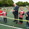 Tennis Courts At Cantley Park Officially Opened