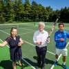 Chestnut Tennis Courts Re-open After Refurbishment