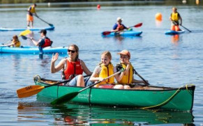 Record Numbers For Dinton Pastures Country Park's Annual Family Fun Weekend