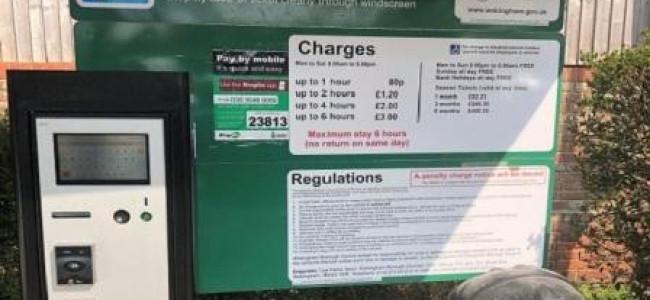 New Car Parking Machines In Wokingham
