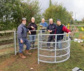 Loddon Valley Ramblers Improve Footpath Access