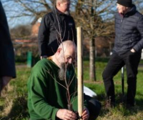 Dinton Pastures Has 20 New Trees Thanks to Squire's Garden Centre