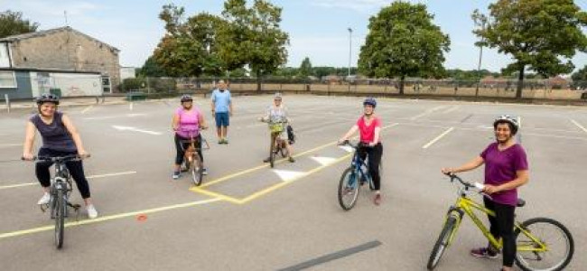 Old Bikes Given New Lease Of Life By Wokingham Council In Conjunction With RE3