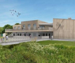 New Dinton Activity Centre, Work Started