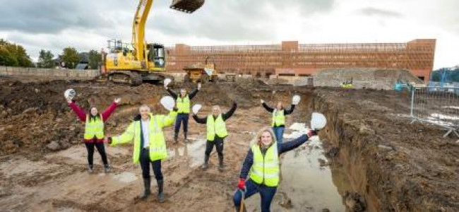 Construction Starts On New Leisure Centre & Library