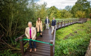 Winnersh Meadows Boardwalk Opened By Council
