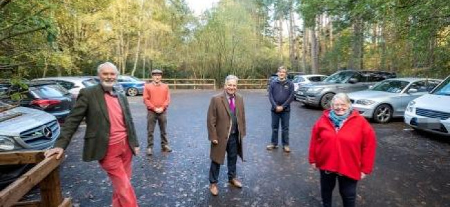 Heath Lake Nature Reserve Car Park Now Resurfaced And Open