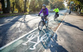 London Road Cycleway Project Complete