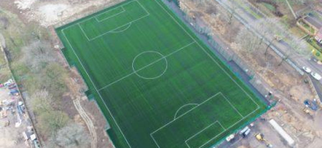 Arborfields New School Takes Shape & 3G Pitch Complete