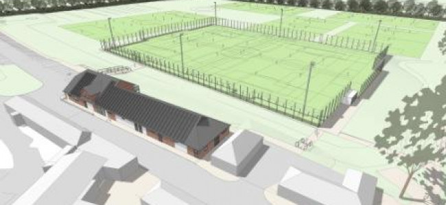 Cantley Park 3G Pitch and Pavillion Works Started