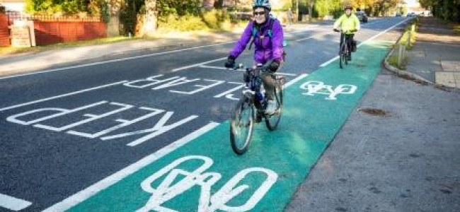 Wokingham Borough Council Has Been Awarded £576,650 Towards Improvements To Cycling And Walking Facilities