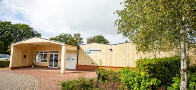 Foundry College Improvements & New Building Opened