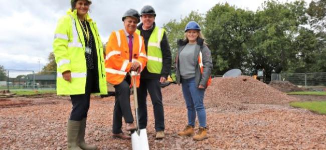 Wokingham Cantley Park Play Area Work Begins