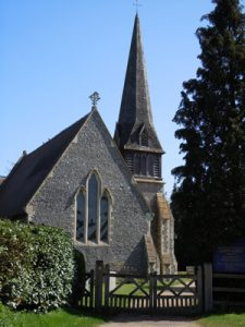 Wokingham Berkshire - Barkham Chruch