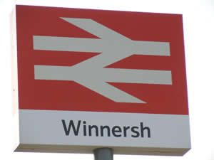 Wokingham Berkshire - Winnersh Station