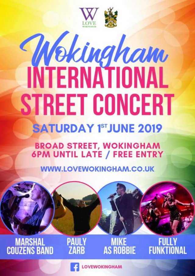 Wokingham Street Concert