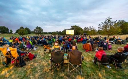 Dinton Pastures Open Air Cinema