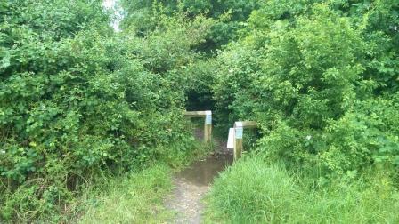 Keephatch Footpath