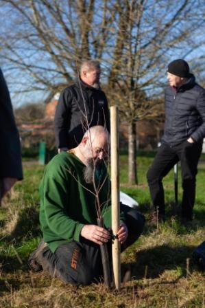 Dinton Pastures Tree Planting