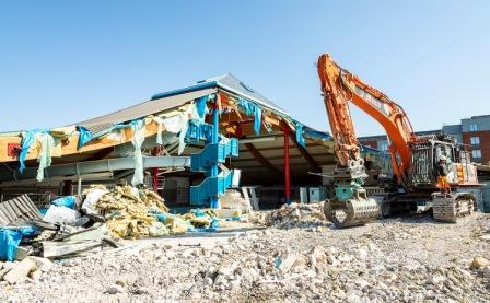 Demolition Of Carnival Pool