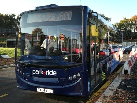 New Park And Ride