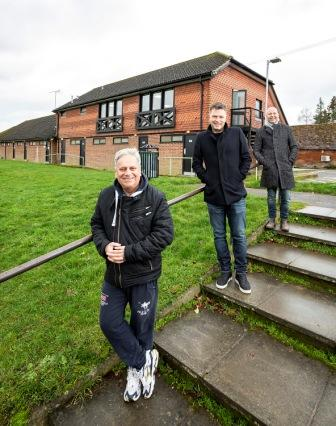 New Football Facilities At Cantley Park