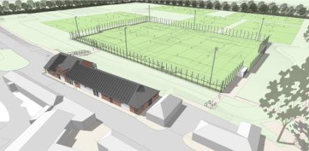 Cantley Park 3G Pitch - Wokingham