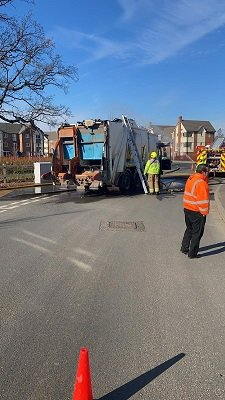 Car Battery Causes Fire in Wokingham